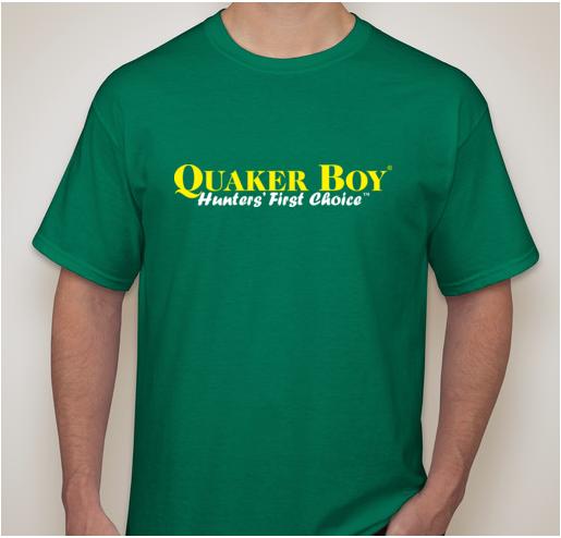 Quaker Boy T-Shirt - MEN'S LARGE