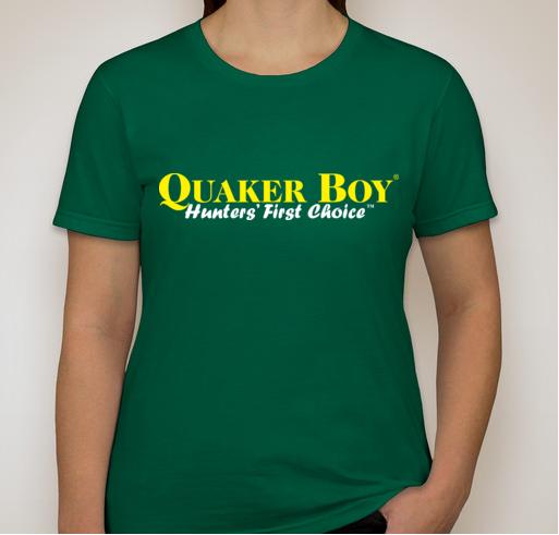 Quaker Boy T-Shirt - WOMEN'S EXTRA SMALL