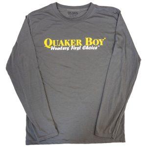 QB Logo LS Shirt-Hunter-Green